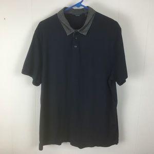 Perry Ellis mens blue polo shirt XXL